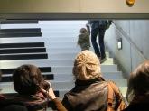 Découverte du Piano Stairs, en lancement du jardin numérique à la station Charles de Gaulle (L'Embusc@de).