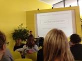Brunot Berthier, psychothérapeute, présentait jeudi, à la Cantine Numérique, son utilisation des Sims en thérapie (l'Embusc@de).