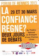 Forum Libé 2013 Rennes
