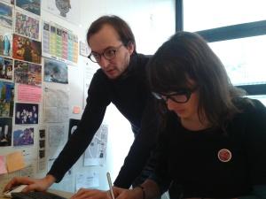 Frédéric Neff (à gauche) a d'abord été disquaire à Arles puis distributeur à Abeilles Musique avant de créer Viva Musica en 2007.