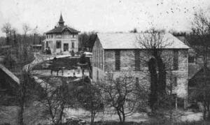 L'ancienne laiterie de Vern-sur-Seiche reconverti par l'Espace Bouillants.